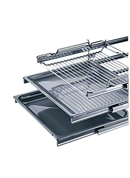 HCE 60 - Convenient single pull-out fully telescopic runners for individual trays and racks.--NO_COLOR
