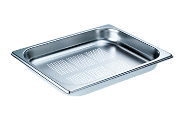 DGGL 8 - Perforated steam cooking containers For all DG steam ovens except DG 7000. --Stainless steel