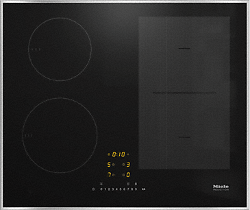 KM 7464 FR - Induction hob with onset controls with PowerFlex cooking area for maximum power output--NO_COLOR