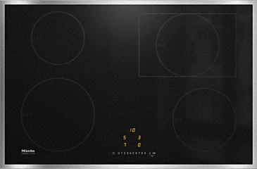 KM 7210 FR - Induction hob with onset controls with cooking/extended zone at an attractive entry-level price--NO_COLOR