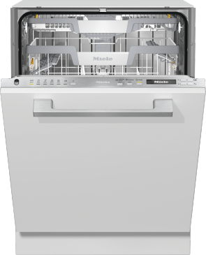 G 7155 SCVi XXL - Fully integrated dishwasher XXL with 3D MultiFlex tray for maximum convenience.--Stainless steel/CleanSteel