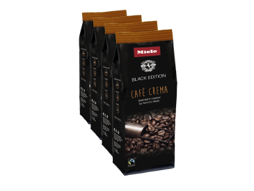 Miele Black Edition CAFÉ CREMA 4x250g - Miele Black Edition Café Crema Perfect for making Café Crema.--NO_COLOR