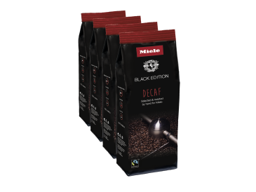 Miele Black Edition DECAF 4x250g - Miele Black Edition Decaf Perfect for making decaffeinated speciality coffees.--NO_COLOR