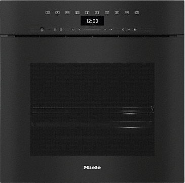 DGC 7460X - Handleless XXL Steam combination oven for steam cooking, baking, roasting with networking + BrilliantLight.--Obsidian black