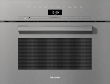 DGM 7440 - Steam oven with microwave for healthy cooking and rapid heating-up with networking.--