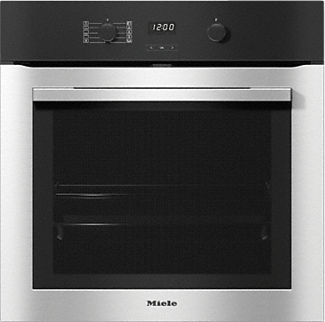 H 2760 BP - Oven attractive stainless steel design with FlexiClip runners & pyrolytic cleaning. --Stainless steel/CleanSteel