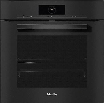H 7860 BP - Oven seamless design with food probe and BrilliantLight.--Obsidian black