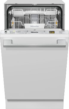 G 5481 SCVi SL Active - Fully integrated dishwasher, 45 cm  in tried-and-tested Miele quality at an affordable entry-level price.--Stainless steel/CleanSteel